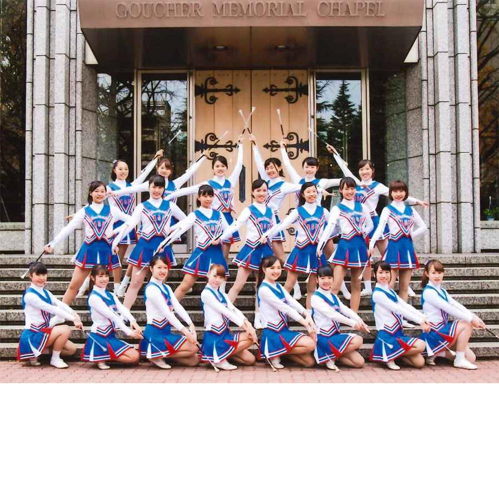 青山学院大学 学友会 吹奏楽 バトントワリング部 Panthers