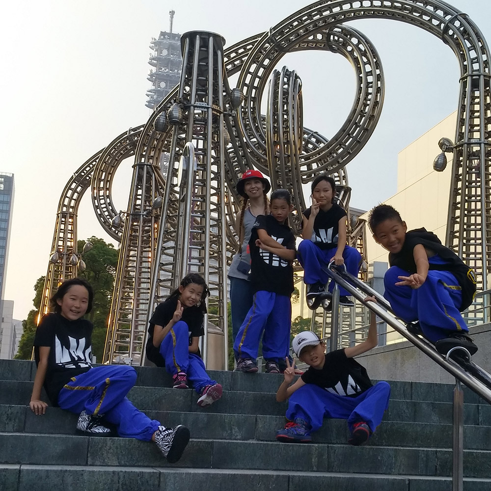 横浜ベイサイド・キッズストリートダンス・ネットワーク