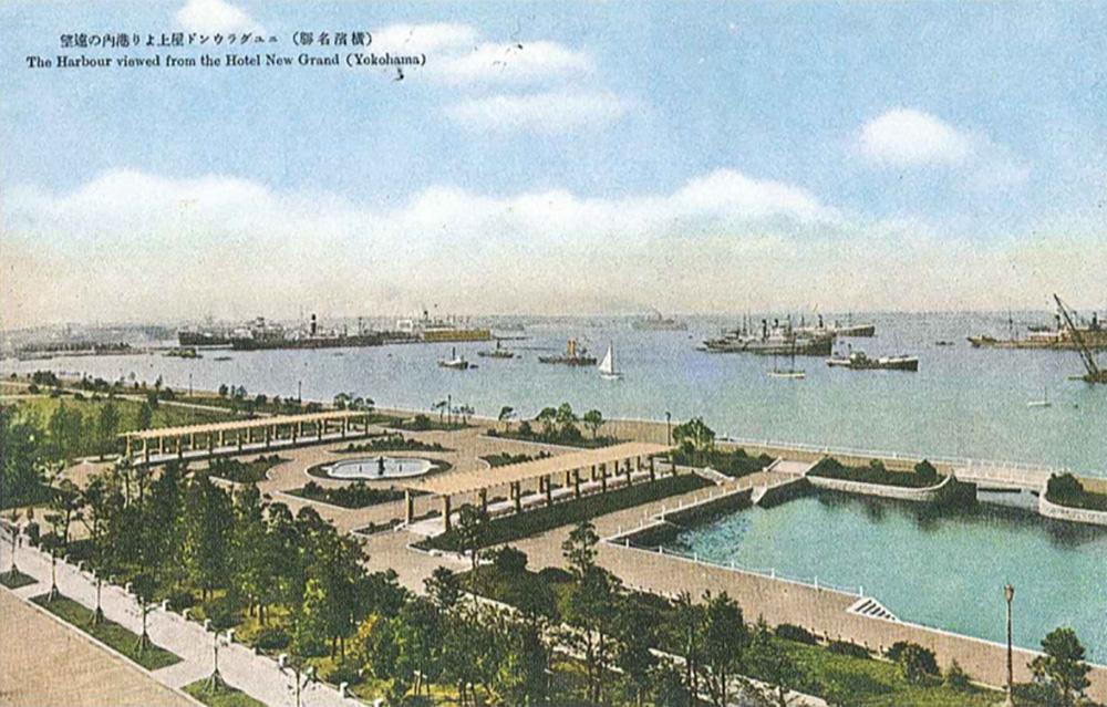 山下公園(横浜都市発展記念館所蔵)