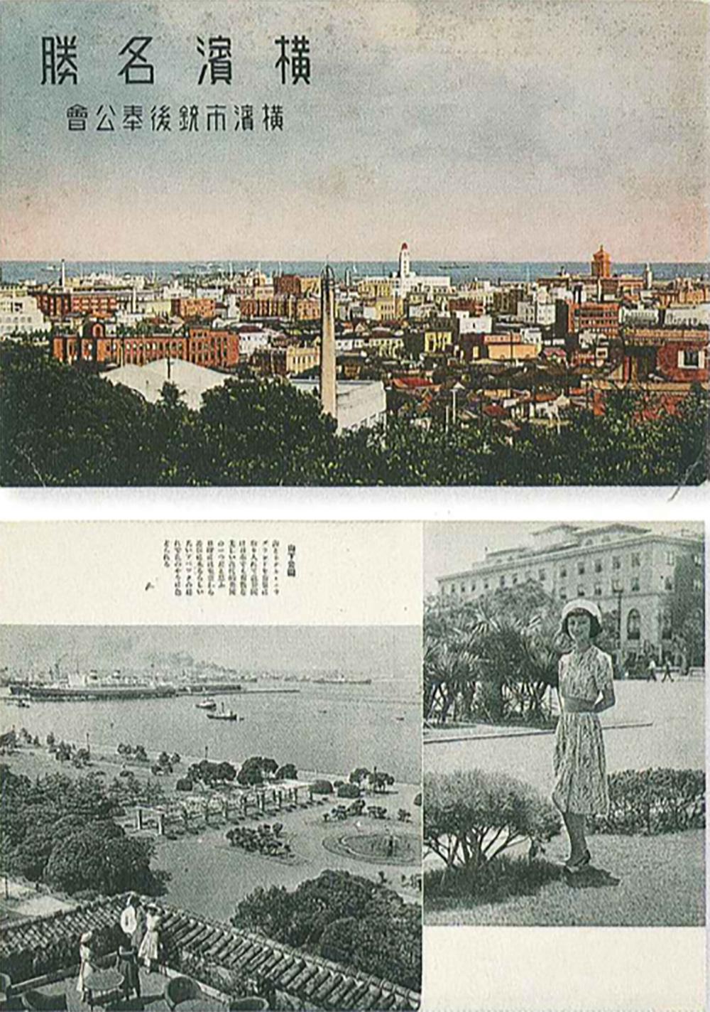 横浜名勝(横浜都市発展記念館所蔵)