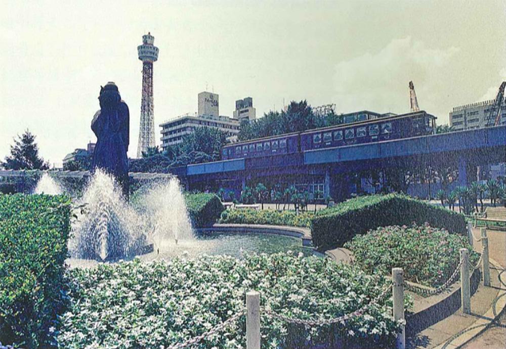 横浜博覧会での臨港鉄道(横浜市史資料室所蔵・広報課写真資料)
